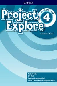 Project Explore 4 Teacher's Pack (SK Edition)