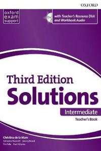 Maturita Solutions 3rd Edition Intermediate Teacher's Book Pack