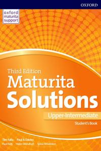 Maturita Solutions 3rd Edition Upp-Intermediate SB SK