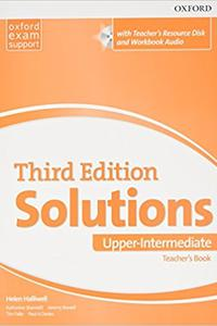 Maturita Solutions 3rd Edition Upp-Intermediate Teacher's Book Pack