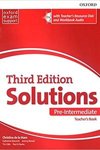 Maturita Solutions 3rd Edition Pre-Intermediate Teacher's Book Pack