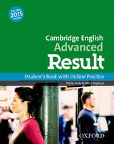 Cambridge English Advanced Result Student's Book with Online Practice Test