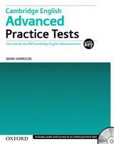 Cambridge English Advanced Practice Tests With Key and Audio CD Pack