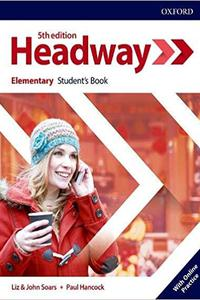 Headway 5th edition Elementary Student's Book Pack