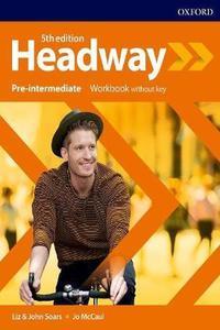 Headway 5th edition Pre-Intermediate Workbook without Key