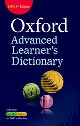 Oxford Advanced Learner´s Dictionary 9th Edition Hardback + DVD + Online Access Code