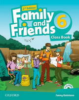 Family and Friends 2nd Edition 6 Class Book and MultiROM