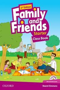 Family and Friends 2nd Edition Starter Class Book (2019 Edition)