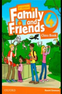 Family and Friends 2nd Edition 4 Class Book 2019
