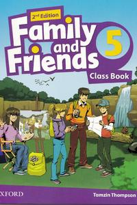 Family and Friends 2nd Edition 5 Class Book 2019