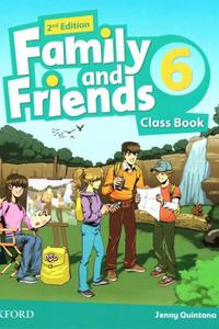 Family and Friends 2nd Edition 6 Class Book 2019