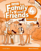 Family and Friends 2nd Edition 4 Workbook + Online Practice