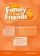Family and Friends 2nd Edition 4 Teachers Book Plus