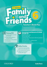 Family and Friends 2nd Edition 6 Teachers Book Plus 2019