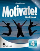 Motivate! 4 Workbook with Audio CD