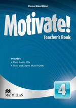 Motivate! 4 Teacher's Book with Audio CD & Test Audio CD
