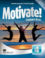Motivate! 4 Student's Book with DVD-ROM