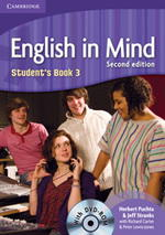 English in Mind 3 2nd Edition Student's Book with DVD-ROM