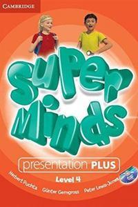 Super Minds 4 Presentation Plus DVD-Rom
