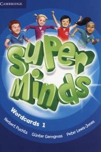 Super Minds 1 Wordcards