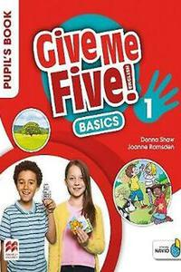 Give Me Five! 1 Pupil's Book Basic with Navio App