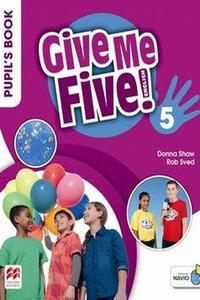 Give Me Five! 5 Pupil's Book with Navio App