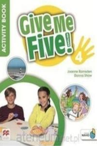 Give Me Five! 4 Pupil's Book with Navio App