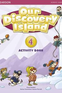 Our Discovery Island 4 Activity Book with CD-ROM