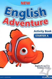New English Adventure Starter A Activity Book + Songs CD - pracovný zošit